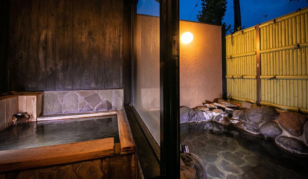 客室付き内湯・露天風呂
